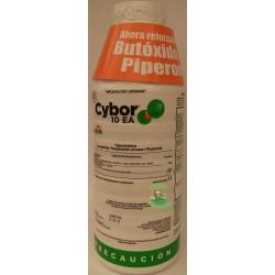 CYBOR 10 EA Cipermetrina + Butoxido BOTELLA 1L