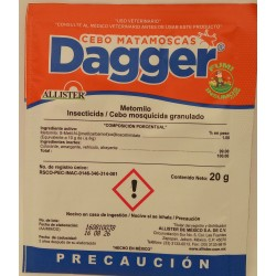 DAGGER MOSQUICIDA GRANULADO Metomilo SOBRE 20 gr