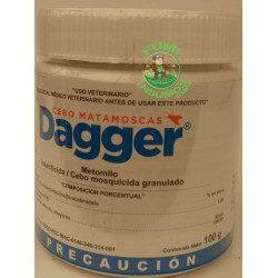 DAGGER MOSQUICIDA GRANULADO Metomilo BOTE 100 gr
