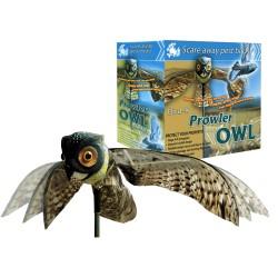BUHO ESPANTA PAJAROS Bird-X Prowler owl