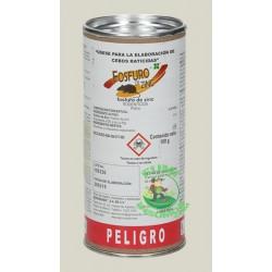 FOSFURO DE ZINC Raticida en polvo Frasco 100gr