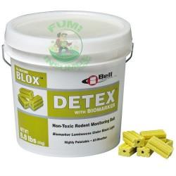 DETEX BLOX CUBETA Cebo sin ingrediente activo