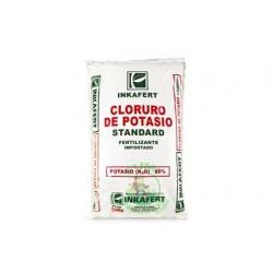 CLORURO DE POTASIO SACO 50Kg