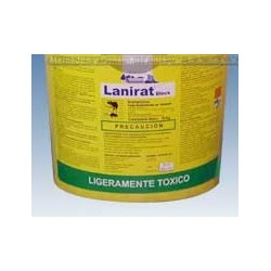 LANIRAT BLOCK 28 Gr. Bromadiolona CUBETA 5 Kg