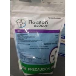 RODILON BLOQUE Azul 15 gr. Perforado Difetialona BOLSA 1 kg